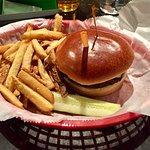 Plain Cheeseburger and Fries