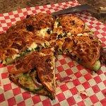 Delicious Greek Pizza
