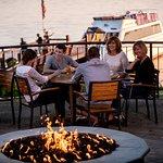 BoatHouse Pub Patio Firepit & Escapade Yacht