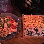 Chicken salad & chips