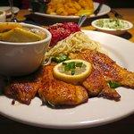 Salute, Gulfport, MS - Bar Area - Fried Flounder