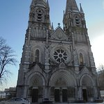 St Fin Barre cathedral front entrance