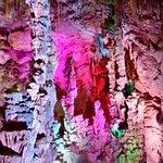 Inside Canalobre cave