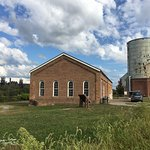 The historic Pump House owned by the Rivers of Steel National Heritage Corporation, Homestead, P