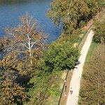The Great Allegheny Passage along the Monagahela River, Homestead, Pa.
