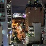 View of Brisbane eye from balcony