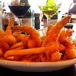 Pappadeaux - IAH Gate E3 - Fried Shrimp Platter