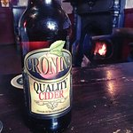 A Cronins cider by the fire