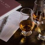Whiskey tasting flights