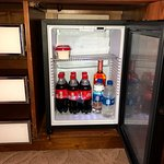 fridge big enough for drinks but not carry out dishes