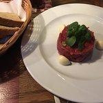 Tatarský biftek z pravé hovězí svíčkové