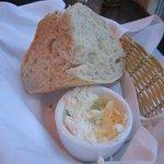 Warm bread & butter