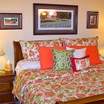 The Bluegrass Suite has a King Pillow Top Mattress set.