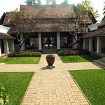 One of two inner courtyards at Rachamankha