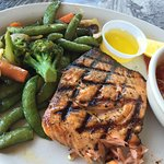 Grilled Seared Salmon