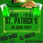ST. Patrick's Day THE GREEN PARTY @ CVI