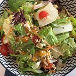 Asian chopped salad with grilled chicken