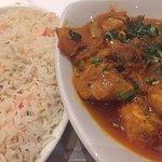 Main course - Chicken Bhuna - very nice too