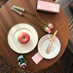 lovely gifts from hotel