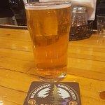 A serving of pale ale
