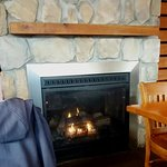 Cozy Fireplace and Gas Logs