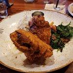 fried chicken with a twist