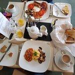 The amazing breakfast