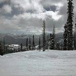 On the slopes of Wolf Creek Ski Resort.