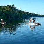 Paddle Board Yoga!