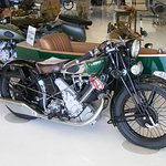 1931 Panther motorcycle once owned by actor Steve McQueen