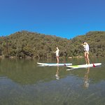 Paddle board and relax in nature
