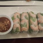 Salad Rolls with Shrimps