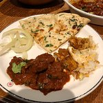 Excellent food. Ordered a mixed grill starters and lamb Dhaba and chicken biryani for mains.