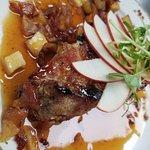Pork belly and eggs sunday brunch