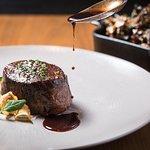 Filet Mignon at Bourbon Steak Orange County.