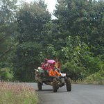 A village cart car