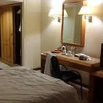 Spacious room allocated...