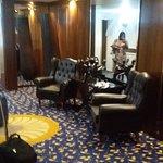 Lobby facing the elevators...