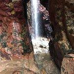 Plemont waterfalls