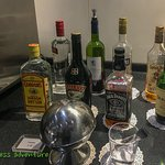 room mini bar. The lobby bar is less expensive and better provisioned