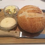 Baked Brie and Sourdough