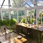 Conservatory booked for private hire