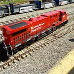 Miniature train.