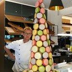 Création de notre chef pâtissier