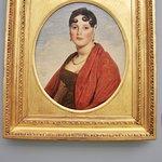 """Ingres, portrait de Madame Aymon, dite """"la belle Zélie"""", 1806"""