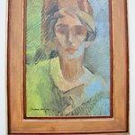 Jacques Villon, portrait de Mme Arthur Bulard, 1928