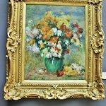 Renoir, bouquet de chrysanthèmes, entre 1883/1885