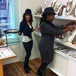 Behind the scenes jewlery shopping! Super fun!