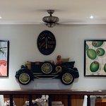 Interior decoration - Beefeater Steakhouse