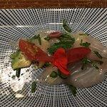 Crudo (raw seafood)